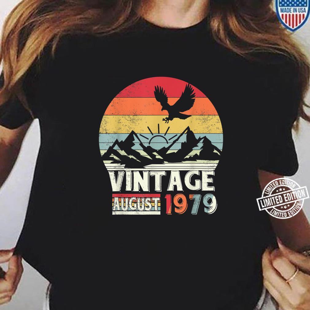 August 1979 Shirt 41 Years Old 41st Birthday Shirt ladies tee