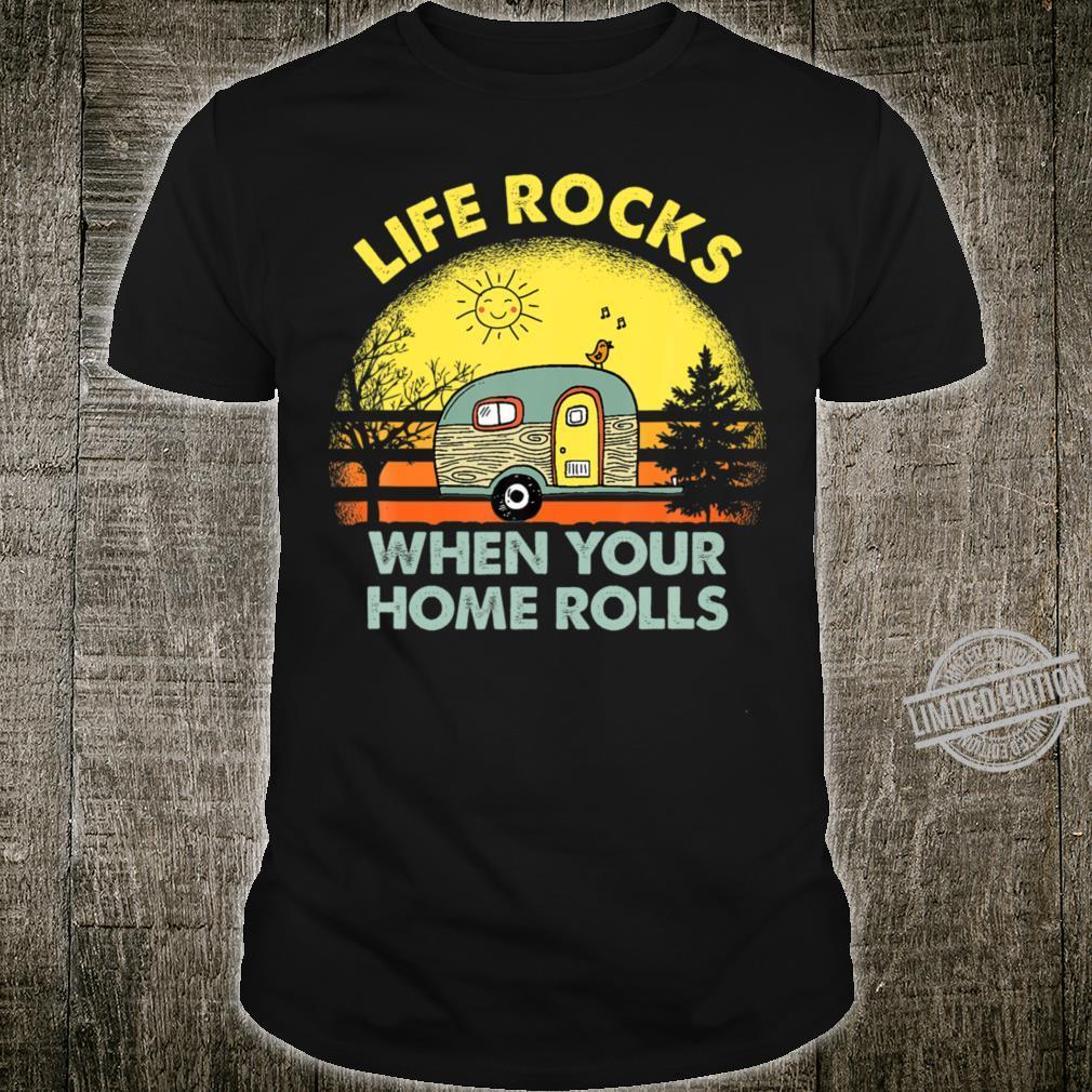 Funny Camping Crewneck Shirt