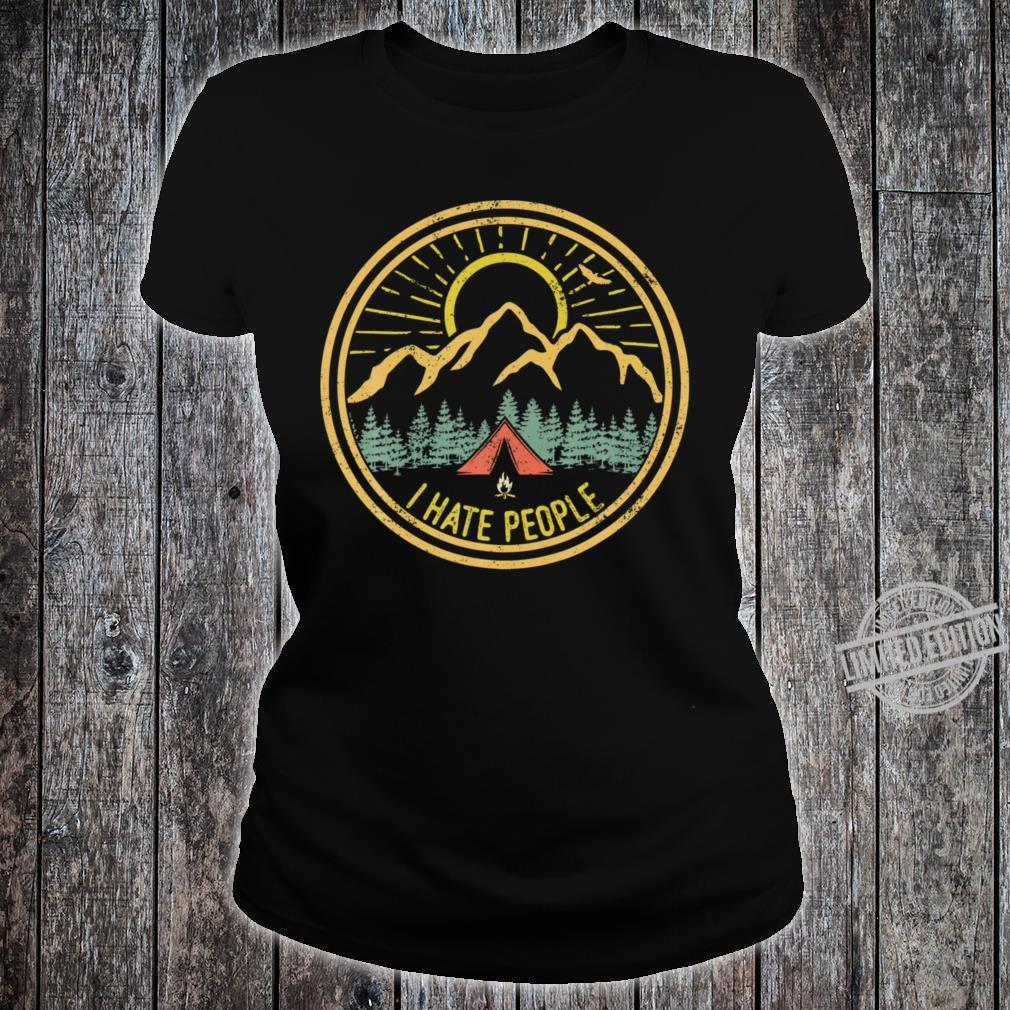 Funny Camping Shirt ladies tee