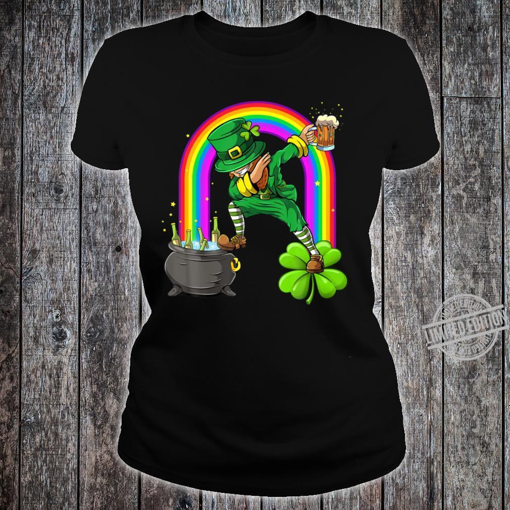 Funny St Patricks Day Shirt ladies tee